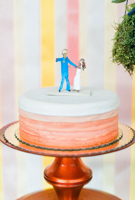 One-Tier-Wedding-Cake-The-Grovers