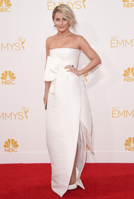 Julianne Hough in DSquared2 at the 2014 Emmy Awards.