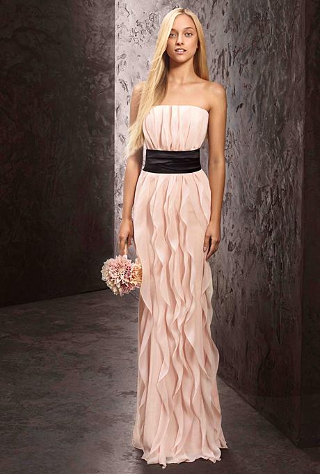 chiffon-bridesmaid-dresses-summer-spring-white-by-vera-wang