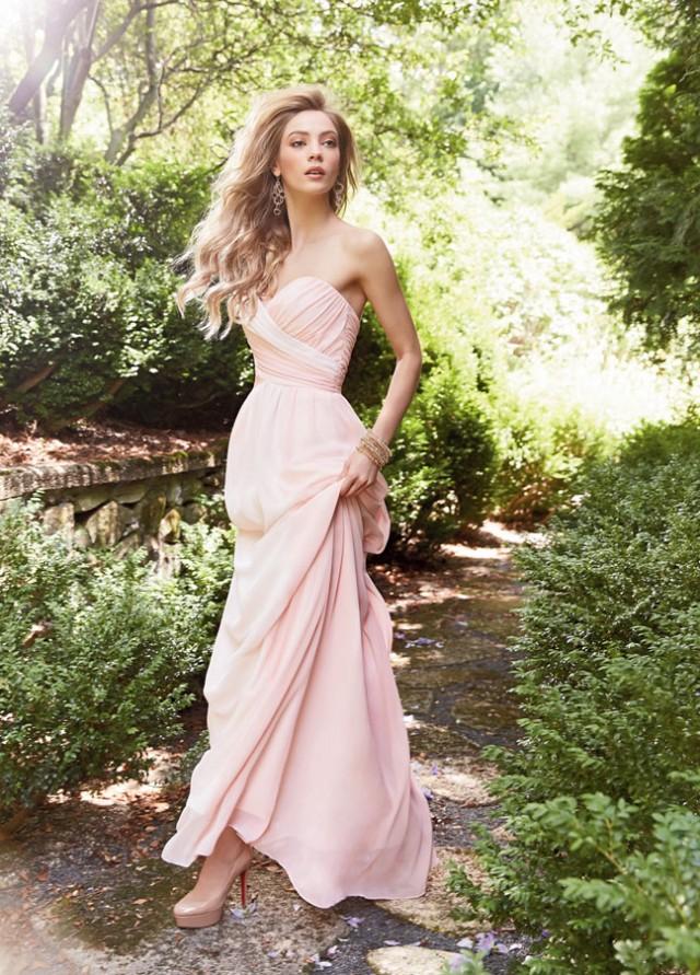 Light-Pink-Bridesmaid-Dress