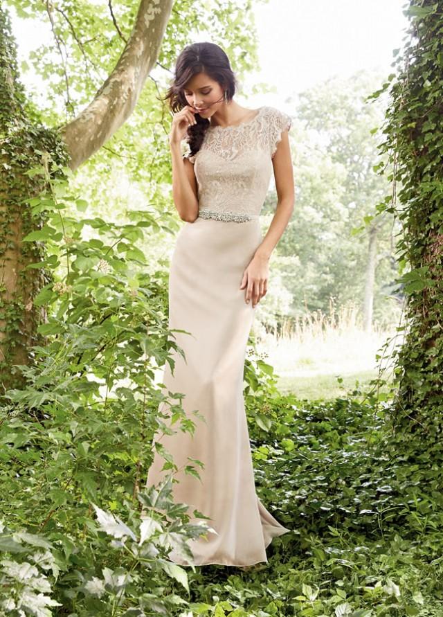 Nude-Bridesmaid-Dress