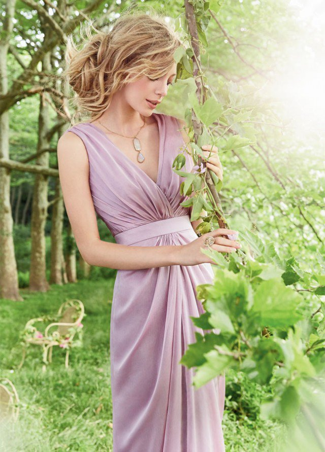 Purple-Bridesmaid-Dress