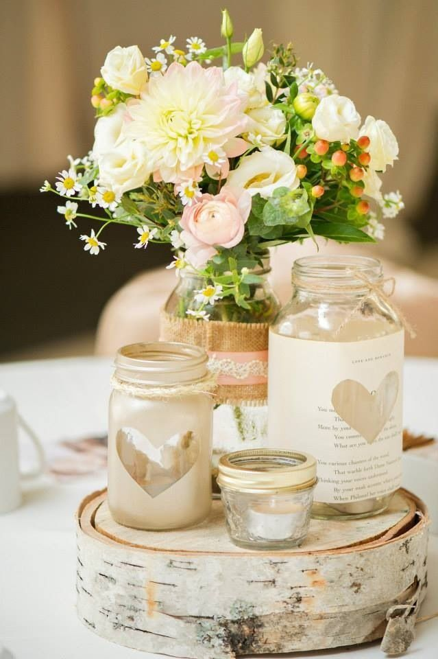 mason-jar-centerpieces-heart-shape