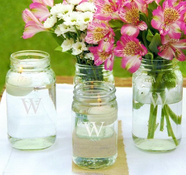 mason-jar-centerpieces-monogram