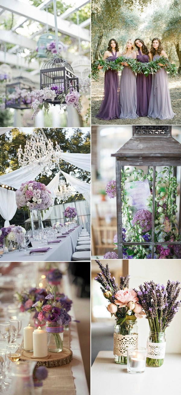Romantic-LavenderGreen-and-White-Wedding-Color-Combinations