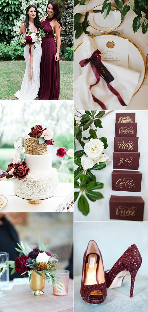 goldburgundy-and-greenery-spring-and-summer-wedding-colors